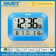 New Fashion Design 2015 Big LCD Screen Atomic Clock Decorative Clock