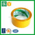 Fuente de la fábrica de bopp adhesiva transparente claro o cinta de cartón sellado( iso/sgs aprobado)