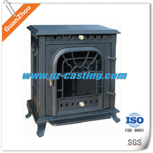 cast iron wood burning stove OEM by guanzhou iron casting founddry