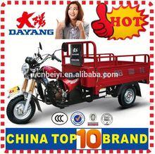 China BeiYi DaYang Brand 150cc/175cc/200cc/250cc/300cc bottom price 250cc motorized big wheel tricycle