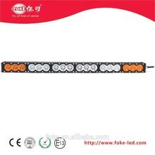 180 W 6000 K blanco ámbar PC 32.6 '' 60 W combo del trabajo del led luz 9 - 60 V del coche led barra de luz