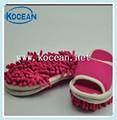 amaçlı mikrofiber temizlik ayakkabı paspas çıkarılabilir terlik temiz zemin ücretsiz boyutu