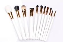 QK makeup artist brush belt tool holder duster brush cream powder