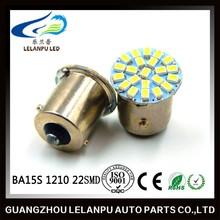 1156 led bulbs 1206 22smd ba15s socket led auto lamp