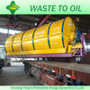 Waste Plastic Pyrolysis Machine To Diesel With Operation Running Machines