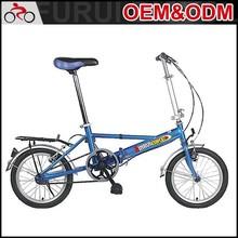 2014 Newest alloy frame 16 inch mini cheap folding bike