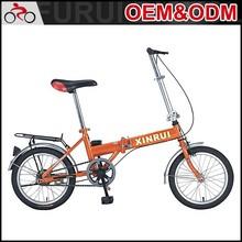 Newest style 16 inch 6 speed low price folding bike