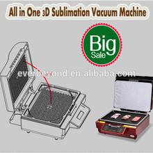 3D Sublimation Vacuum Heat Press Machine for Keychain Puzzle Slate Mug Crystal Plate