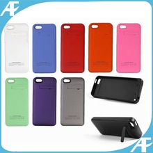 2000mAh External Battery Backup Charger Case Power Bank for iPhone 5 5s