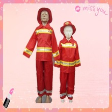 Fireman cosplay costume for child