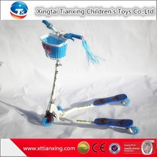 New Kids Folding Damped Pedal Swing Scooter With Fashion Picture