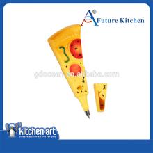 Pizza shape Fridge Magnetic pen, Ballpoint Pen