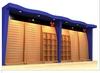 New custom choth retail wooden slatwall rack/shoe decoration slatwall rack /shop decoration slatwall