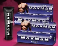 maxman ingrandire il pene crema e prolungare il tempo di sesso per i maschi