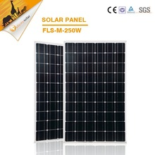 Mono pv solar panel 250w best price with good quality for solar big power panel home system hot sales in 2015
