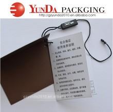 popular folding hang tag,high quality coated paper hang tag,custom jewelry hang tag