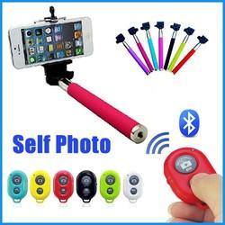 2015 Colorful Smartphone Monopod Selfie Stick,Handheld Monopod for Mobile