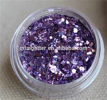 2015 Mixed color series/glitter powder decoration/wholesale bulk glitter