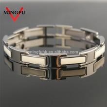 316L SS bracelet magnetic balance