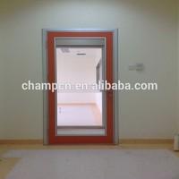 HD180 clear view single swing hospital glazed door