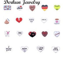 Valentine's day charms!2015 New style floating charms origami owl floating charms fits ling lockets