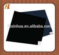 black hard properties plastic polyethylene sheet(HDPE)
