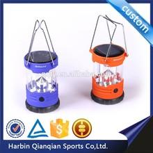 HL9636 solar power led outdoor camping light lantern