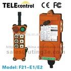 F21-E16 button single speed universal telecrane wireless crane radio industrial remote control,hoist,single-hook