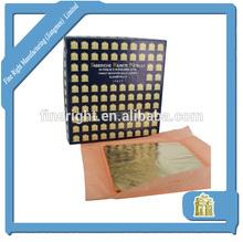 Italiano de la hoja de metal para dorado 16 x 16 cm