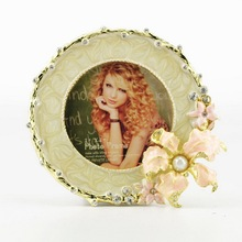 jewelled photo frame cardboard photo frames designs european style classic picture frame women and animal sex photo HQ121996-33