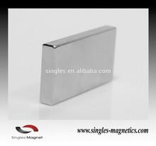 China wholesale strong n52 neodymium fridge magnet block making machine