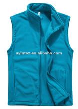 Manufacturer From Jiangxi Popular Style Men's Winter Vest Polar Fleece Double Brush Anti-pilling One Side Multi Colors