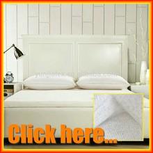 silver fiber bamboo knitted fabric for antibacterial memory foam mattresses