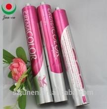 aluminum tube for hair color hair remov cream tube