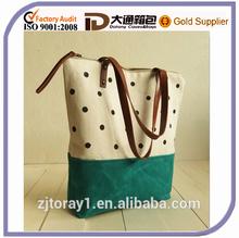 2015 Fashion Shoulder Bag Canvas Tote Bag for Girls