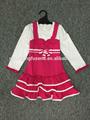 design de mode 2015 petites robes des filles avec volant