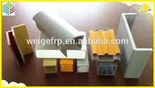 High strength pultruded fiberglass profiles composite frp profile