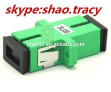 2015 single core simplex SC optical fiber attenuator with flange