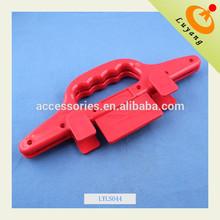 Wholesale good quality POM red color handbag handles