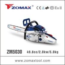 ZOMAX power tool 49.8cc 2.0kW ZM5030 concrete chainsaw 2 stroke gasoline