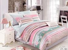 100% cotton duvet cover 3d bedding set brand reactive printed king bed set bed luxury wedding sheet set blanket
