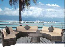 space saving leisure outdoor wicker dinning sets rattan furniture