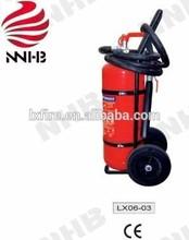 CE 50kg Wheeled dry powder fire extinguisher