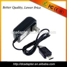U.S,UK,EU dc 5v 1a power adapter