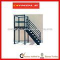 Profesional de fabricación de chapa exterior y de interior de acero inoxidable de la escalera