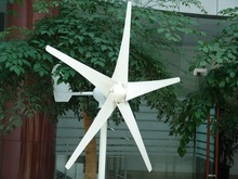 two bearings 400w 12/24v horizontal wind turbine /windmill with CE made in china