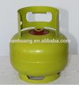 Pequeñas de buena calidad 3.0 kilogramos de gas del tanque