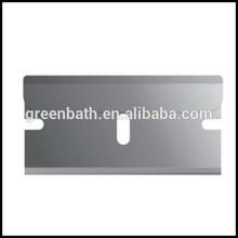 in acciaio inox rivestiti di platino barbiere rasoio usa e getta di plastica per i viaggi