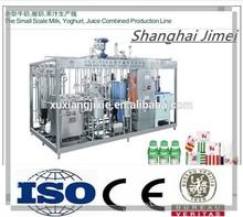 Small scale milk yoghurt juice production line machine(Shanghai Jimei)