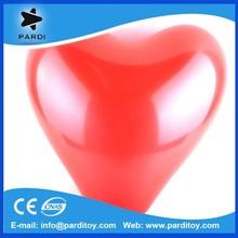 Customize logo printed heart shape natural latex balloons